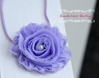 purple baby headband, infant purple headband
