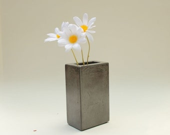 Concrete Pencil Holder, Vase