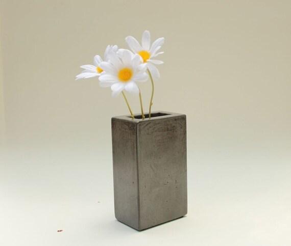 Concrete Pencil Holder, Vase