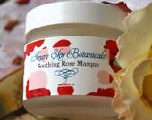 Soothing Rose Masque - Organic Smooth Skin - Clear beautiful skin  SAMPLE SIZE