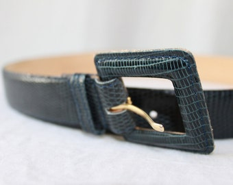 SALE ITEM Vintage Nordstom Lizard Belt