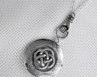 Celtic Knot  Enchanted Irish Locket