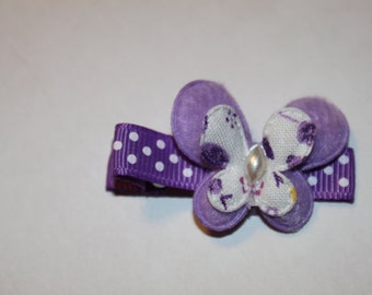 One Dollar Butterfly Hair Clippie/non slip/infant/toddler/girl