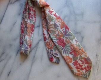 70s Annie Hall Necktie