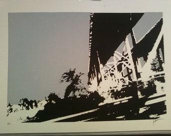 Cooper River Bridges Screen Print