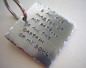 Master of Fate, Captain of Soul keychain