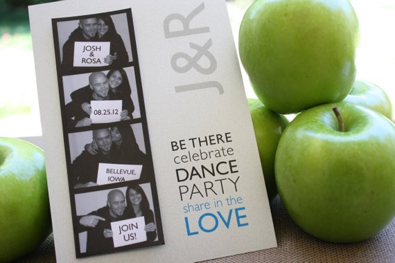 Save The Date Photo Booth Magnet