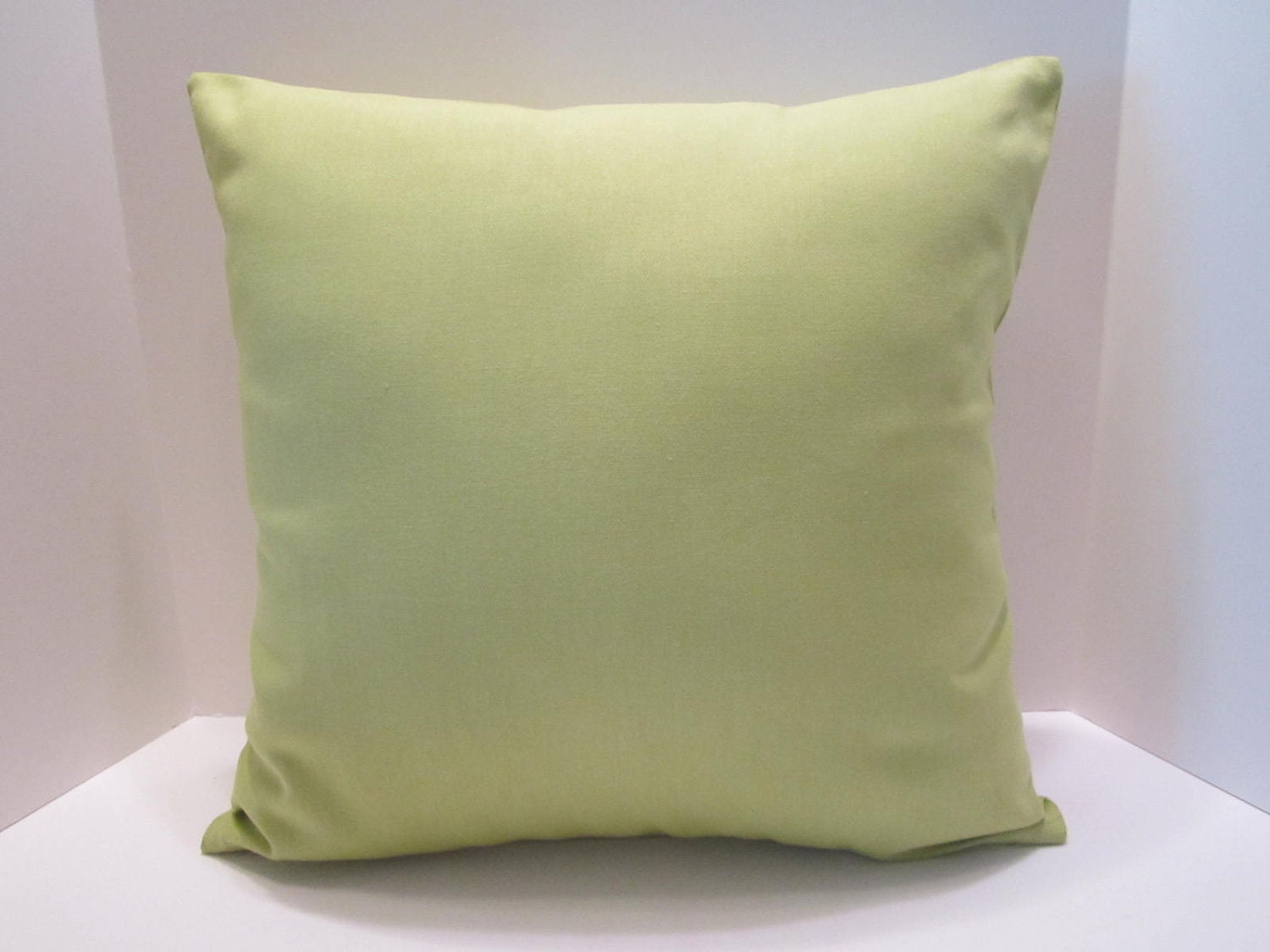 Decorative Pillows With Green : Lime Green Decorative Pillow Cover 16 Inch