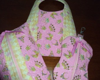 Quilted Baby Set