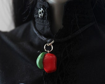BJD Apple Charm Necklace