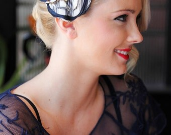 The VIOLET - vintage style headpiece for a special occasion or everyday wear