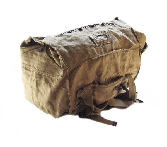 WWII Italian Army Large Bag