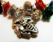 Dia de los Muertos - Day of the Dead bracelet -charm bracelet