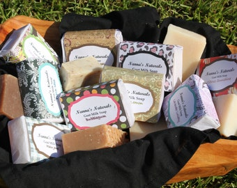 SPECIAL----  Buy 4 Goat Milk Soap Bars and Get ONE FREE