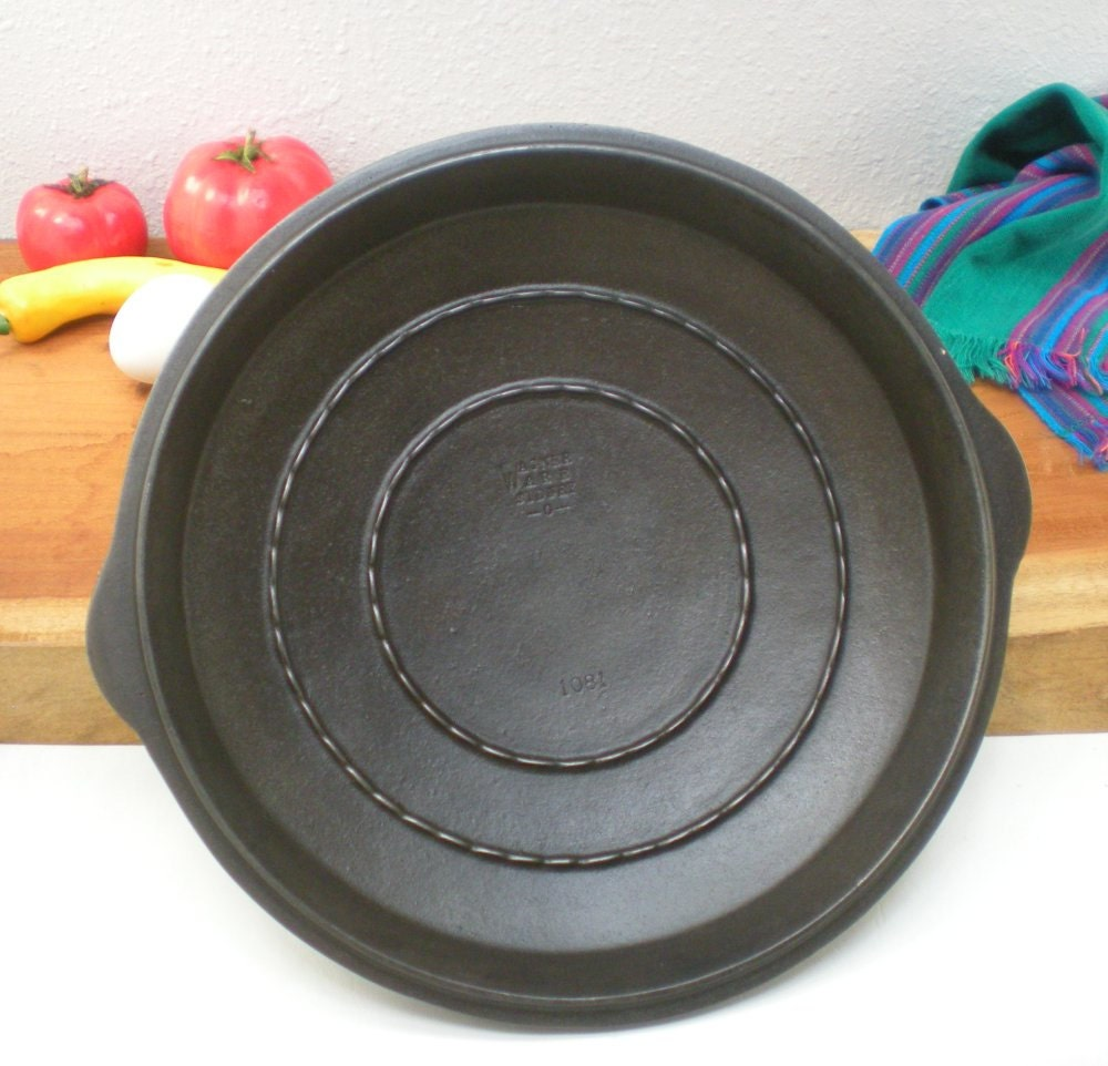 Wagner Ware 1081 Cast Iron Ringed Lid Only For by