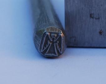 Angel Metal Stamp LARGE-Exclusive To Me-New 3/8 in.-Metal Stamping Tool-Perfect for Metal Stamping and Metal Work