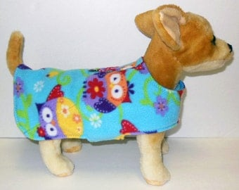 Owl Harness-Vest for Small Dog,
