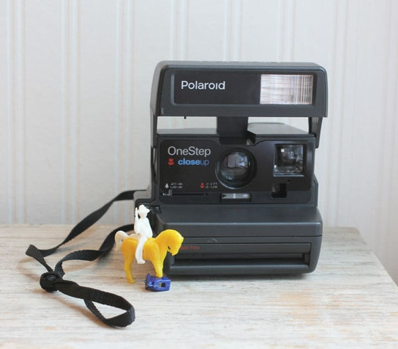 Polaroid One Step Camera Vintage Close Up great vintage gift for him