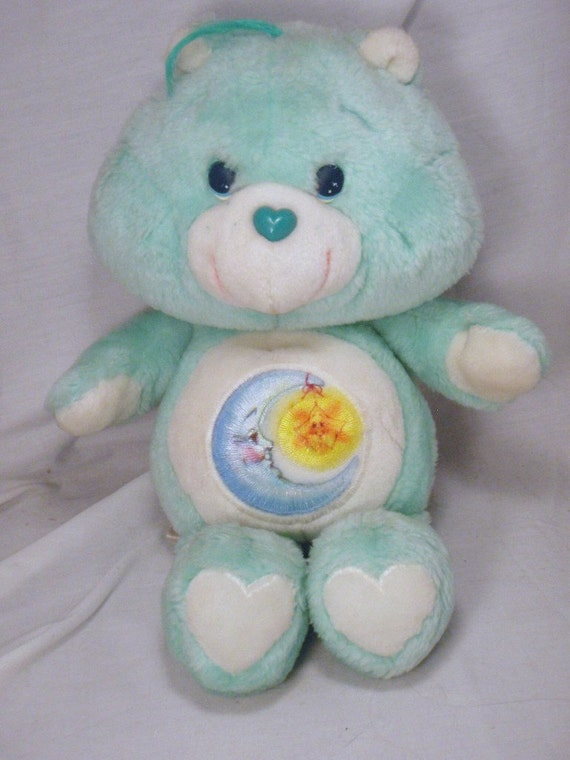 Bedtime Bear Care Bears 13 inch Plush Pastel Teal by ...