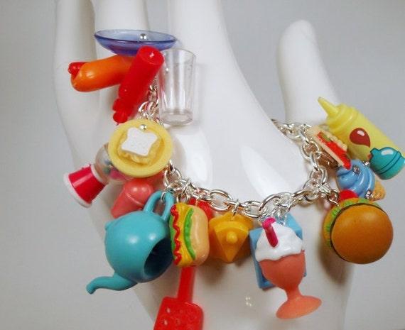 Katamari Damacy Resturaunt Level Toy Box Bracelet