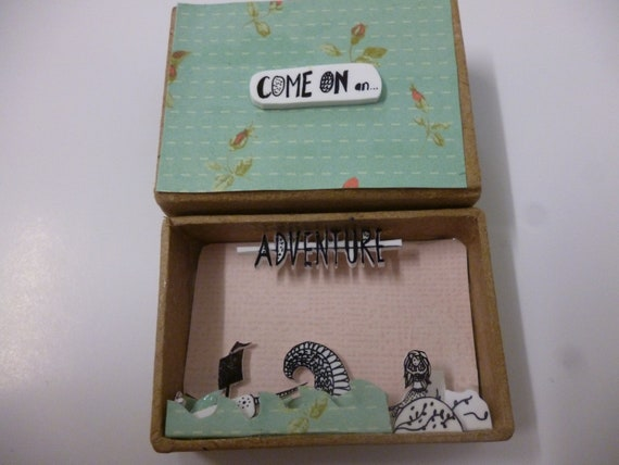 Come on an Adventure Diorama Matchbox