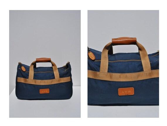 BOYT vintage duffle bag vintage duffel bag canvas tote canvas carry on duffle bag duffel bag