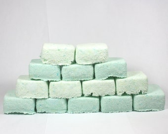 Sinus Clearing Shower Cubes - two week supply - cold, flu, allergies, eucalyptus, fizzie, fizzy, bulk