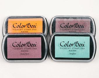 color pigment ink pad - 63 colors