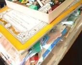 Ultimate Crafter Collage Grunge Pack ephemera kit- Vintage paper ephemera lot assemblage
