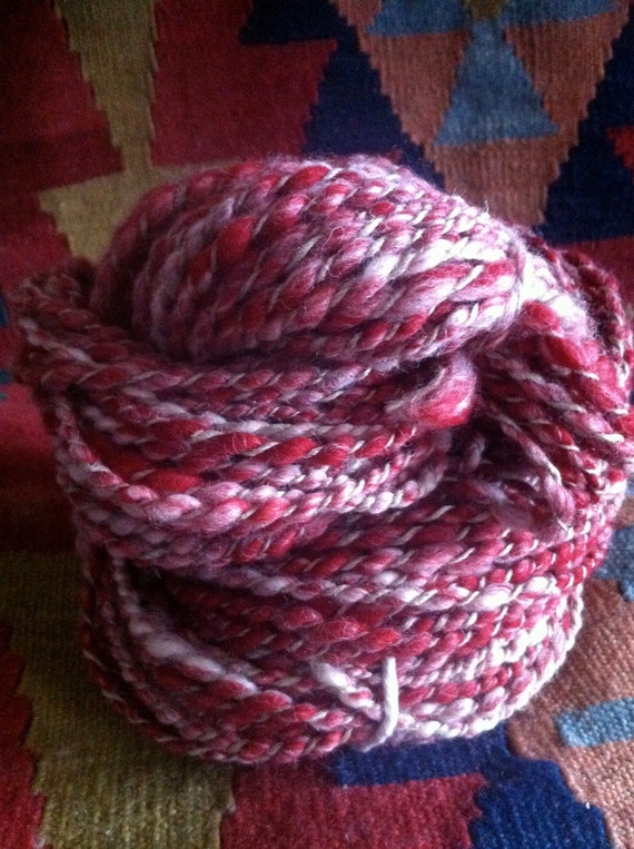 Winter Lumberjack Handspun Yarn 100 grams
