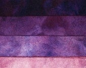 Gemstone Sugilite - hand dyed rug hooking wool fabric -  (1) Fat Quarter (4) values available