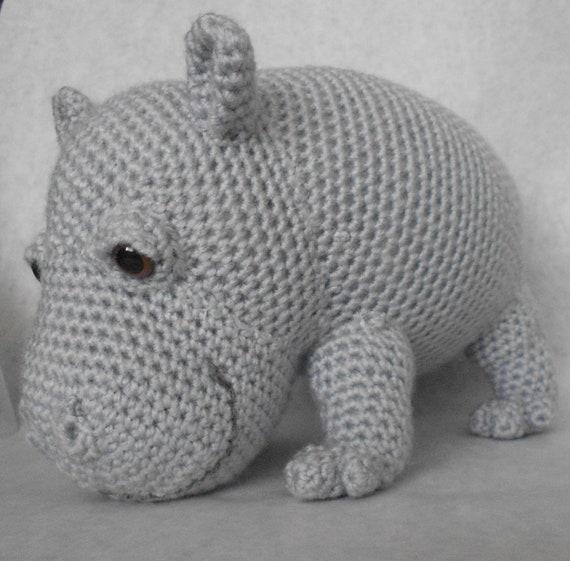 hippo amigurumi crochet pattern. Black Bedroom Furniture Sets. Home Design Ideas