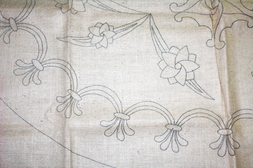 floral patterned canvas fabric - photo #42
