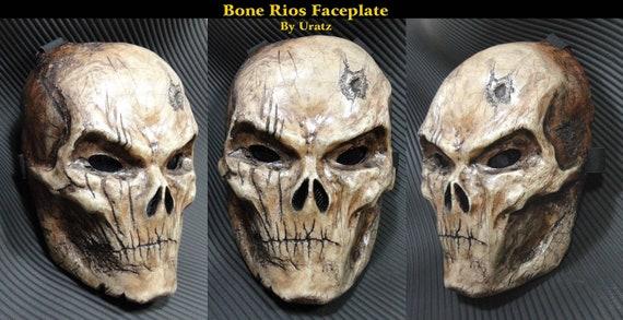Rios Army of Two Customized Mask BONE Battle by UratzStudios
