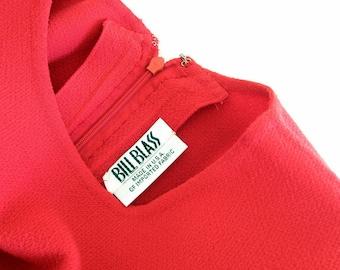 Vintage Bill Blass Dress Size 10 Collectible Couture Fashion USA