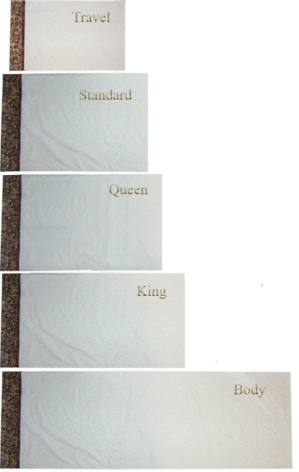 Sew Your Own Pillowcase In 5 Sizes From Travel Size To Body