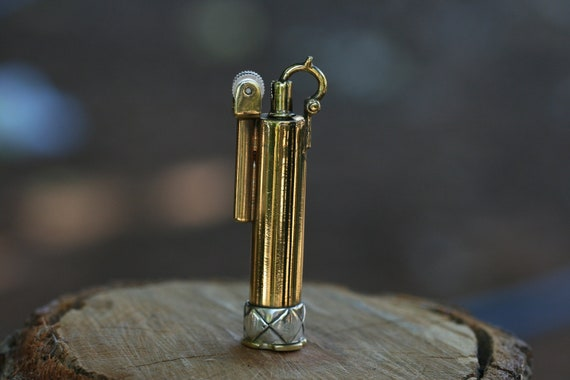 Silver band  Lighter , Brass Lighter,  Handcraft  Lighter, Brass  & Silver Lighter by Zohar