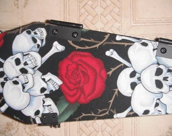 Skull and Roses Purse