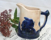 Rustic Old Sleepy Eye Indian Pitcher Four Inches Tall to the Spout Very Old