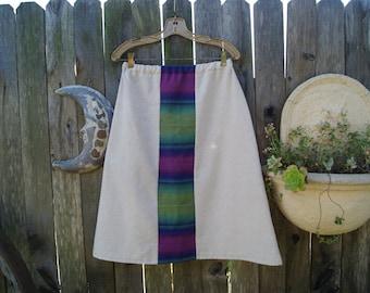 Saltillo Wrap and Onsaburg Earthy Panel Skirt
