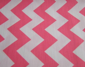 Hot Pink Chevron Medium Print Riley Blake Designs 1 Yard