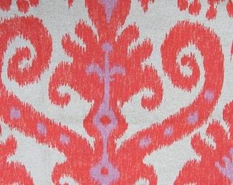 MARRAKESH FIREFLY designer, drapery/bedding/upholstery ikat fabric