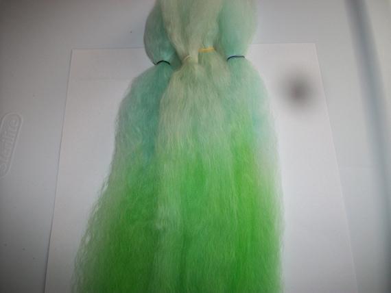 Doll Hair / Combed Suri Alpaca  / BJD / Blythe / Art Doll