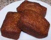 4 Small Loaves of Banana Bread ( w/o Nuts )