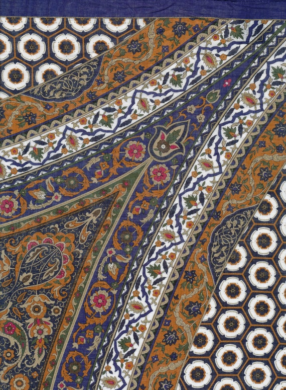 SALE - Spectacular Scarf from Museum of Boston cotton
