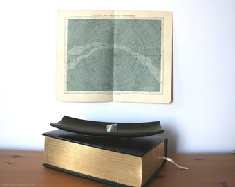 Starry Sky Antique Original 1896 Lithograph from Vintage Dictionary OOAK One of a kind