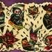 Clowns n Roses n Death Tattoo Flash Sheet