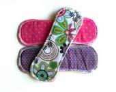 cloth menstrual pads ... regular flow .... set of three