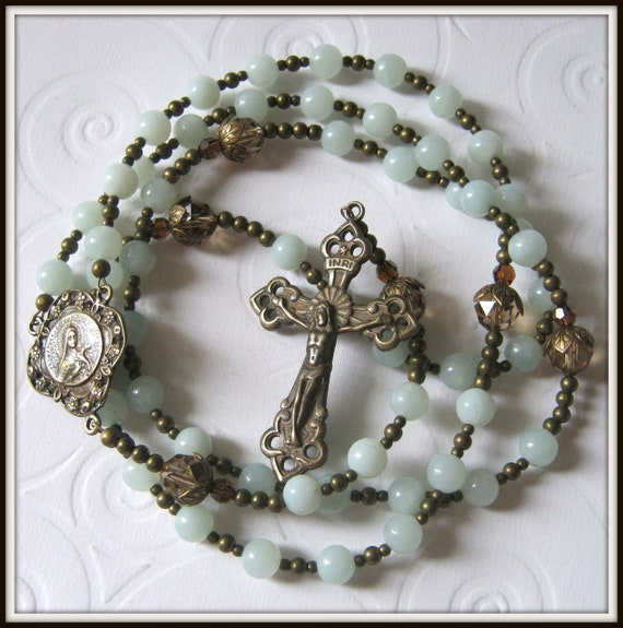 St. Therese Bronze Rosary, Little Flower Rosary