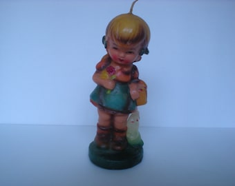 Vintage Hummel Looking  Candle Bunny 1970